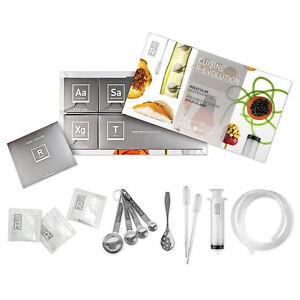 Molecule-R Cuisine R-Evolution Kit Cook Kitchen Experiment Molecular Gastronomy