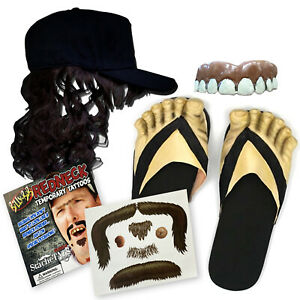 Billy-Bob-Hillbilly-Complete-Redneck-Costume-Kit-Teeth-Mullet-Feet-Mustache