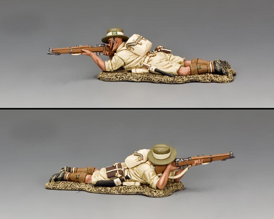 KING AND COUNTRY Gurkha Lying Prone firing Rifle WW2 FOB148
