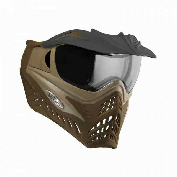 VForce Grill Falcon Special Forces Paintball Maske Goggle, sand-braun