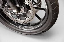 GENUINE SUZUKI V-STROM V STROM DL1000 2014 WHEEL GRAPHICS FRONT AND REAR SET