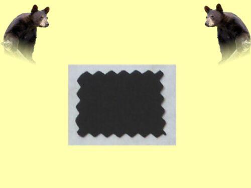 Neopren Meterware Neoprenstoff 8mm Stärke schwarz kaschiert
