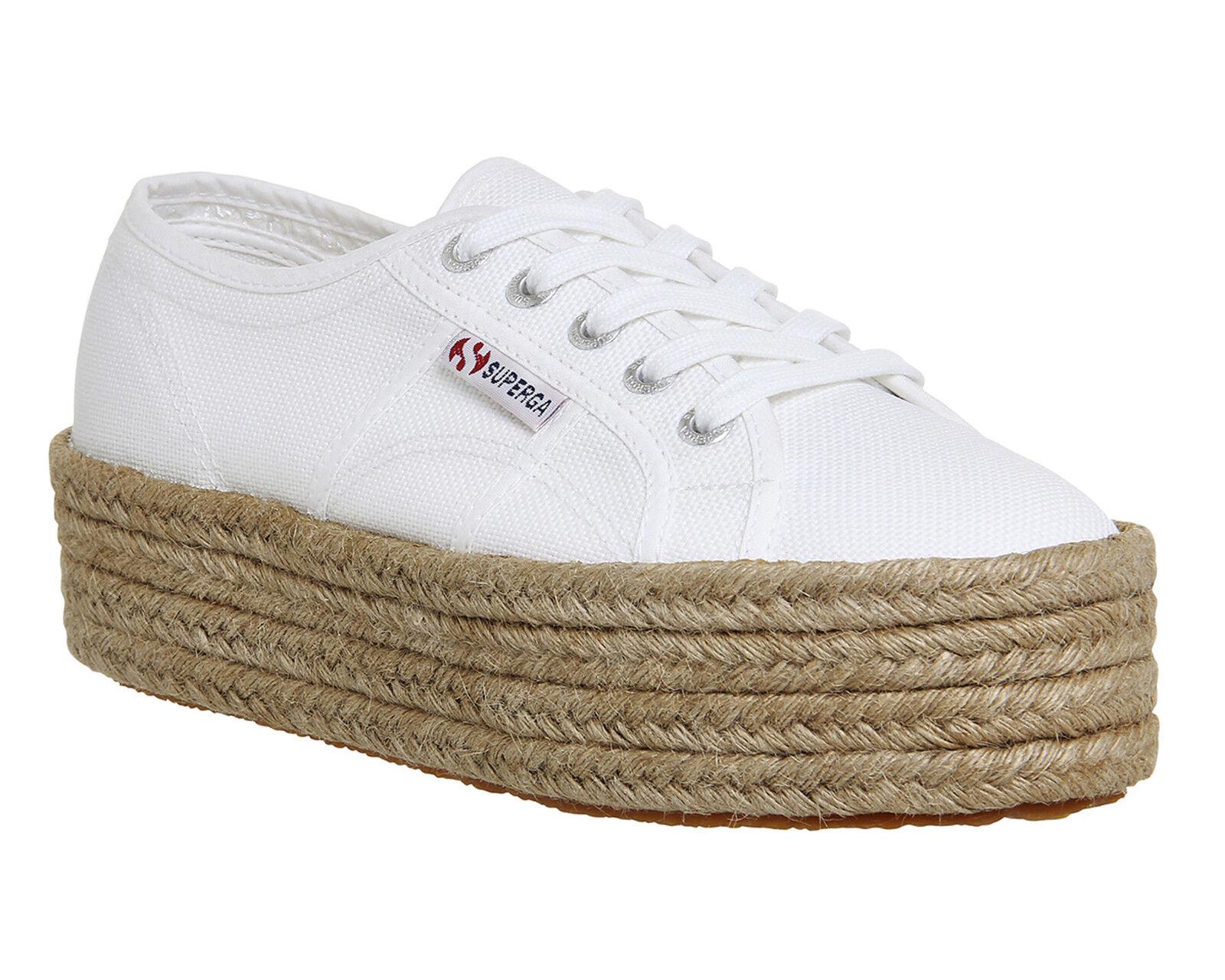Da Donna Superga 2790 Scarpe da ginnastica ginnastica ginnastica bianca Espadrillas | Uscita  | Scolaro/Ragazze Scarpa  863db7