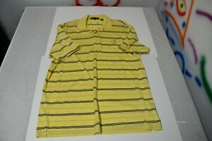 Augusta-National-Masters-Golf-Polo-XL-shirt-PGA-Yellow-Blue-Stripe-Tournament