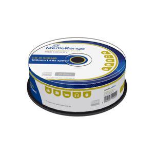 CD-R-48x-900MB-MediaRange-100-minutos-Tarrina-25-uds