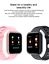 thumbnail 5 - T80 Smart Watch Heart Rate  Monitor Fitness Tracker Smart Bracelet with 2 strap