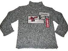 Toller warmer Strick Pullover Gr. 116 grau-weiß mit Star Wars Motiv !!