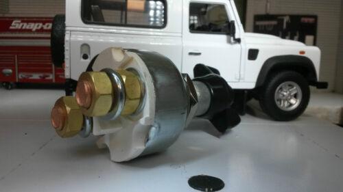 Land Rover Camper batería Master interruptor Seccionador Lucas Repro ssb106 12//24v