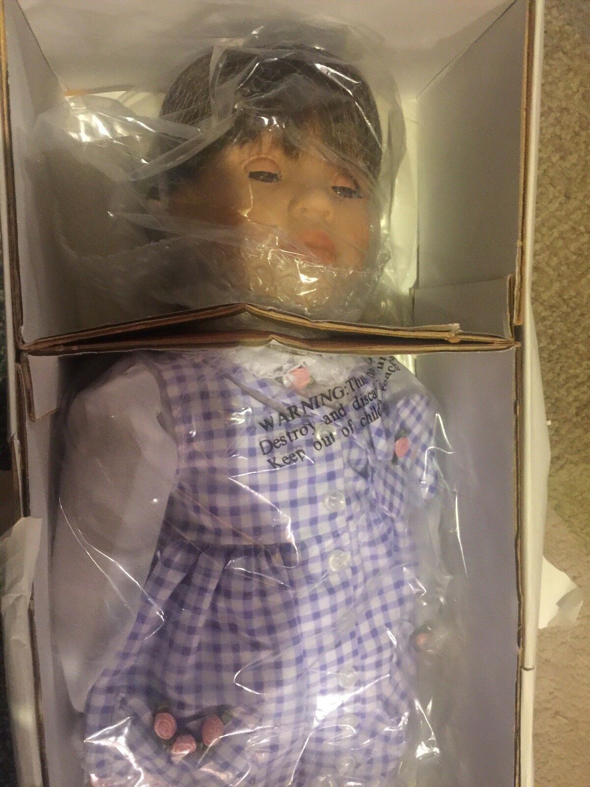 Storybook Heirlooms Doll Savannah Original Clothing New Mint Condition