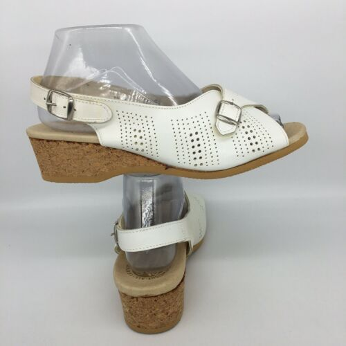 Worishofer Beige Perforated Leather Comfort Orthop