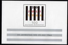 GERMANY MNH 1994 MS2583 50th Anniversary of the Rebellion Against Nazism