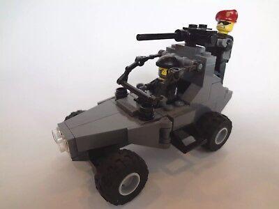 2 LEGO CUSTOM  MILITARY ARMY BACKPACKS FOR LEGO MINIFIGURE lot new