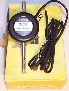 PEACOCK-OZAKI-C-5-DIGITAL-METER-85C716-amp-D-20-DIGITAL-LINEAR-GAUGE-D20