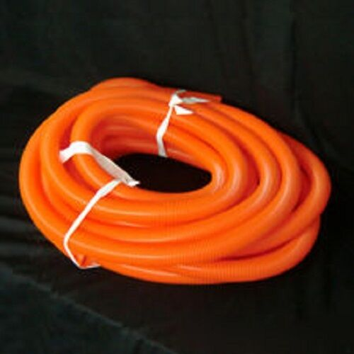 Flexible Vacuum Hose orange Crushproof Plastic 1 1 4 x 50 ft Long Length