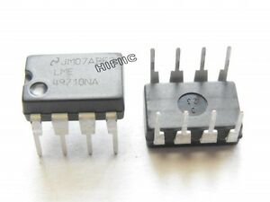 2PCS NSC LME49710NA High Performance,High Fidelity Audio OpAMP DIP8,