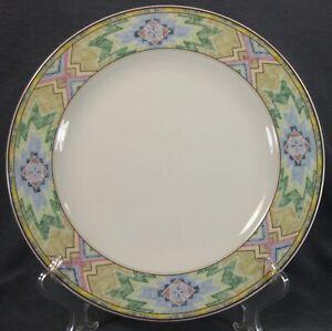 Christopher-Stuart-Rising-Sun-Y0264-Dinner-Plates-Multicolor-Aztec-Rim-M6