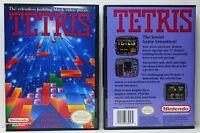 Tetris - Nintendo Nes Custom Case - No Game