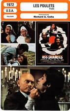 FICHE CINEMA : LES POULETS - Reynolds,Welch,Skerritt,Colla 1972 Fuzz
