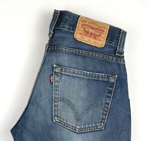 Levi-039-s-Strauss-amp-Co-Hommes-512-04-Droit-Jeans-Bootcut-Taille-W30-L34-AMZ496