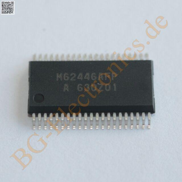 1 x M62446AFP 6ch Electronic Volume with Tone Control Mitsubish SSOP-42 1pcs