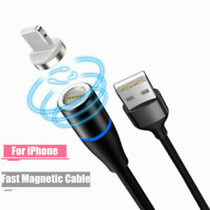 Details zu Magnetic USB Cable Fast Charging iOS Cable Magnet Charger Mobile Phone Data Cord