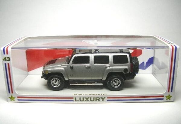 Joyeux Noël! Hummer H3 métallique gris 2006 | Conception Moderne  | Vendant Bien Partout Dans Le Monde  | à La Mode  | En Qualité Supérieure