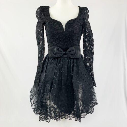 Vintage 80's Jessica McClintock Gunne Sax Dress - image 1