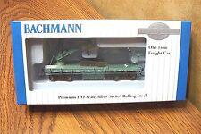 BACHMANN OLD-TIME MOW DERRICK CAR U.S. MILITARY RAILROAD HO SCALE