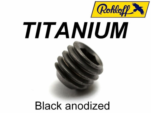 43/% lighter! 1 oil bleed screw in TITANIUM for Speedhub ROHLOFF