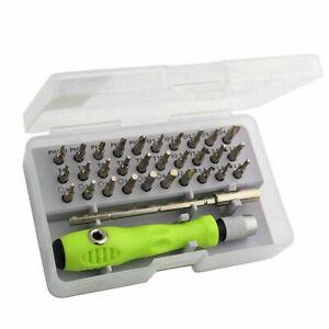 32-in-1-Feinmechanik-Werkzeug-Schraubenzieher-Bit-Satz-32tlg-Werkzeug-Repar-G4G6