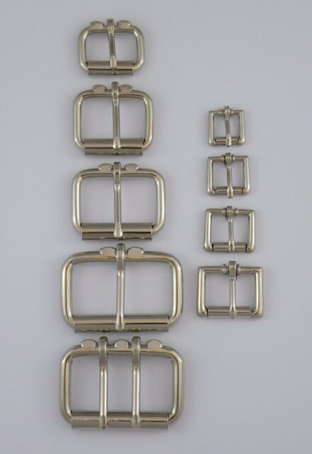 """38 mm Double Prong Square Belt Buckle 1 1//2/"""""""