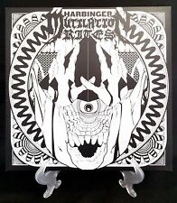 Mutilation Rites Harbinger LP 180g LTD Vinyl Record Hand-Screened Sleeve NEW
