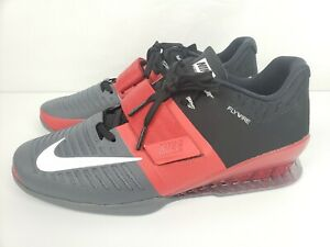 d04aca428b07 Image is loading NIKE-ROMALEOS-3-WEIGHTLIFTING-POWERLIFTING-SHOES-MEN-039-