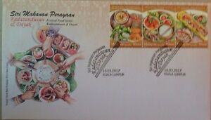 Malaysia FDC with Stamps (16.03.2017) - Festival Food Series - Dayak