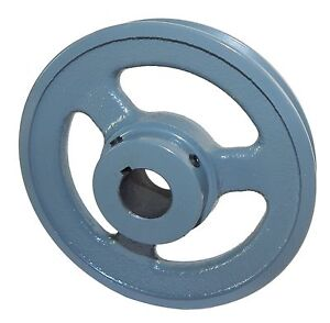 "5.25"" X 1"" Single Groove Fixed Bore ""A"" Pulley # AK54X1"