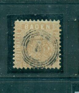 Baden-Wappen-von-Baden-im-Quadrat-Nr-15-b-a-Stempel-8