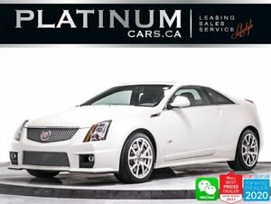 2012 Cadillac CTS V Coupe, RWD, SUPERCHARGED, 556HP, BREMBO BRAKES
