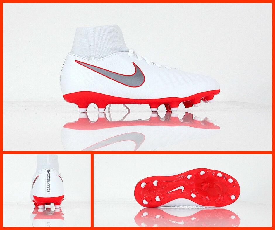 Zapatos NIKE fútbol niño JR OBRA 2 ACADEMY DF FG AH7313 107 blancoO junio 2018