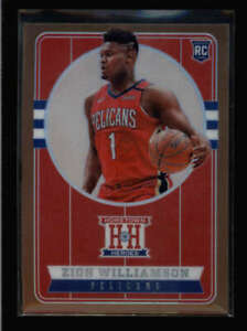 ZION WILLIAMSON 2019/20 CHRONICLES HOMETOWN HEROES 552 BRONZE HOLO ROOKIE FC4246