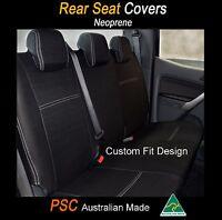 Seat Cover Toyota Kluger 2007-now Rear+armrest 100% Waterproof Premium Neoprene