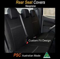 Seat Cover Toyota Kluger 2007-now Rear+armrest 100% Waterproof Premium Neoprene