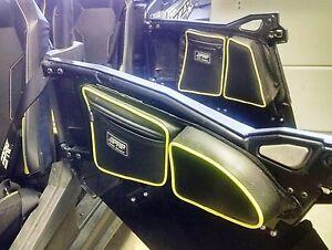 PRP Seats Polaris RZR XP4 1000 Door Bag w/ Knee Pad, Set of