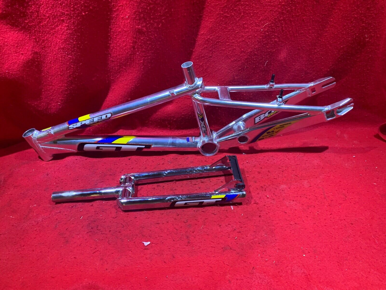 NOS VINTAGE 1999  GT SPEED SERIES XL FRAME AND FORK BMX FREESTYLE RACING  cheap wholesale