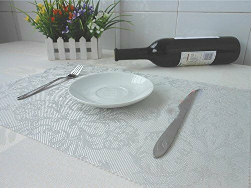 Tablemat Non-Slip Dinner Drink Coasters PVC Bowl Tableware Cup Placemats Pad