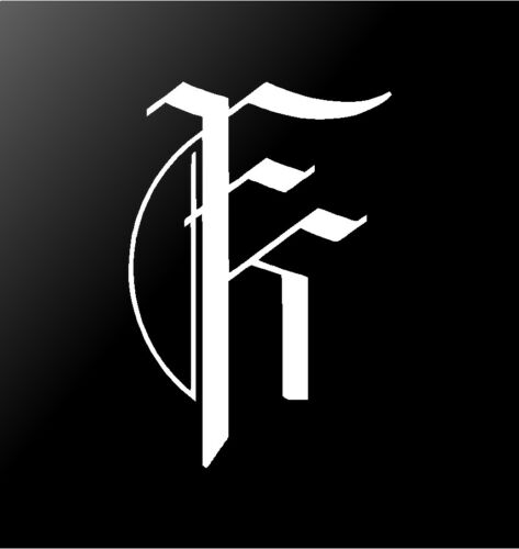 Fit For A King Vinyl Decal Car Window Laptop Guitar FFAK Logo Sticker
