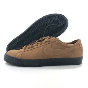 Nike-SB-Zoom-Blazer-Low-Light-British-Tan-Brown-Black-864347-200-Men-039-s-10-11