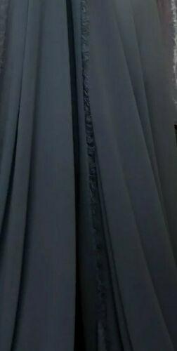 1m crepe georgette chiffon dress fabric 58 wide   W