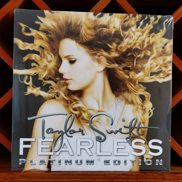[SEALED]Taylor Swift ‎– Fearless (Platinum Edition) 843930021147 EU Vinyl, 2LP