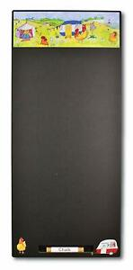 Emma Ball Glamping Chalkboard Nautical Design Black Board+ Chalk+ Board Rubber