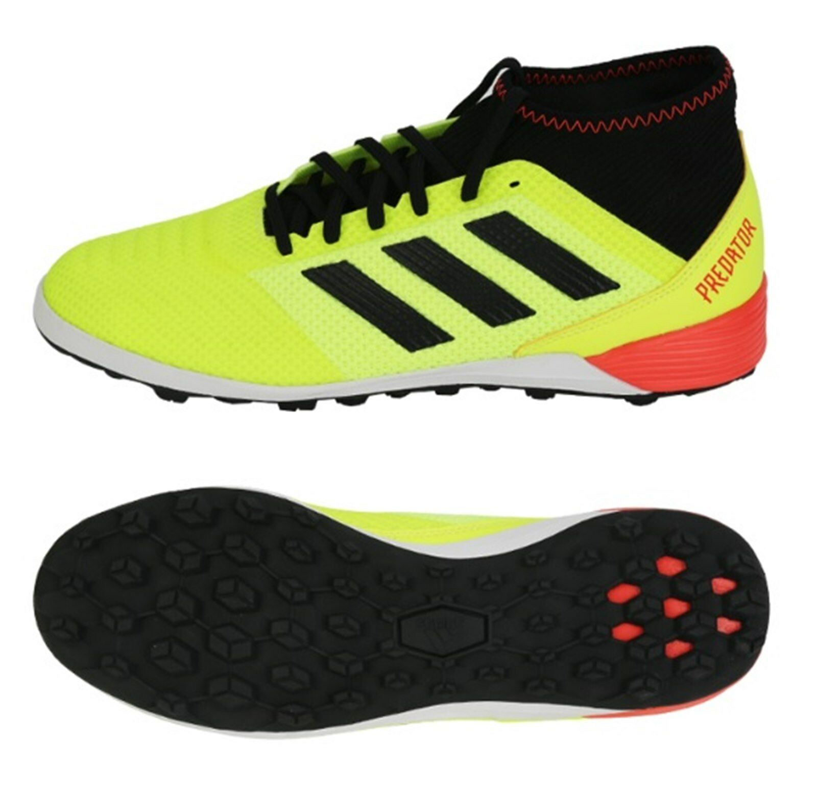 Adidas Men Predator Tango 18.3 TF Cleats Futsal Green shoes Boot Spike DB2134